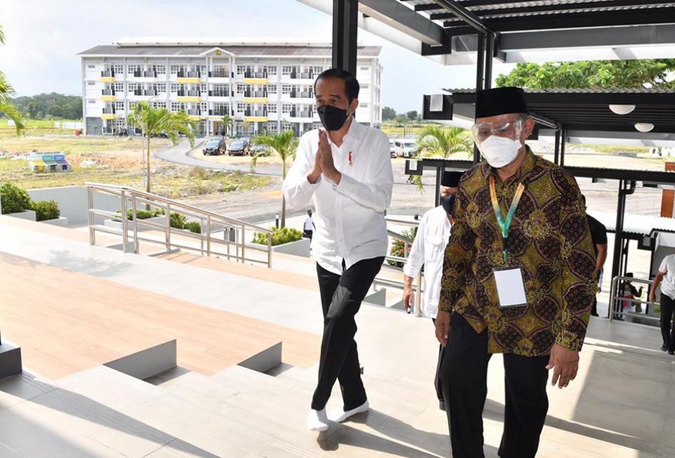 Jokowi Kunjungi Madrasah Muallimin Muhammadiyah