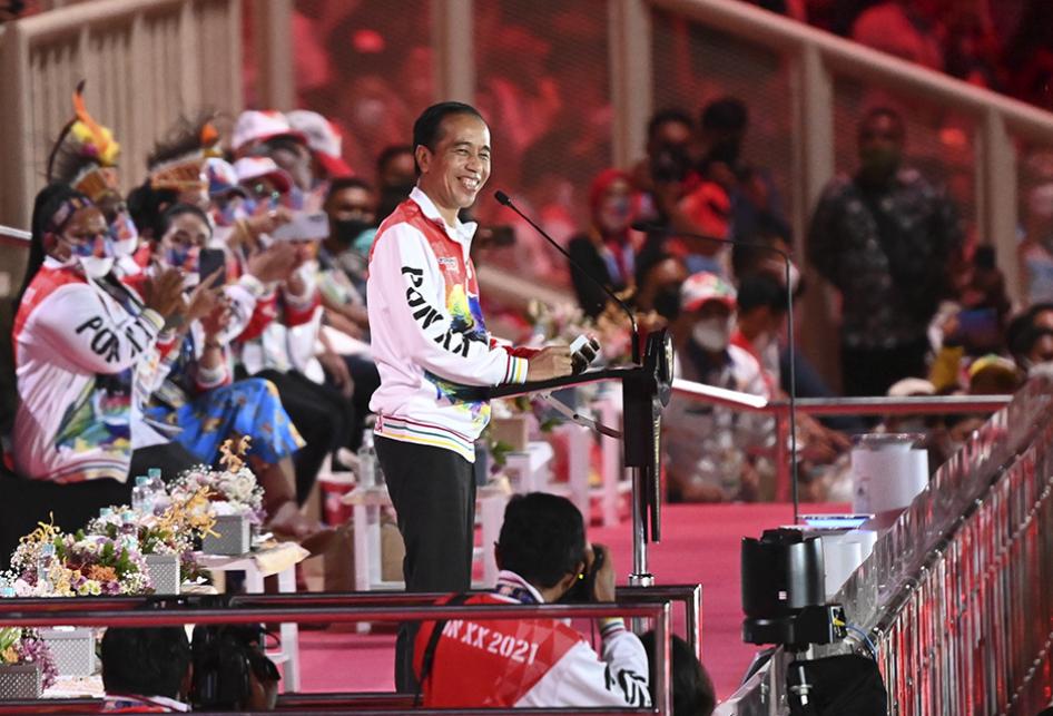 PON XX Papua 2021 Resmi Dibuka Presiden Jokowi