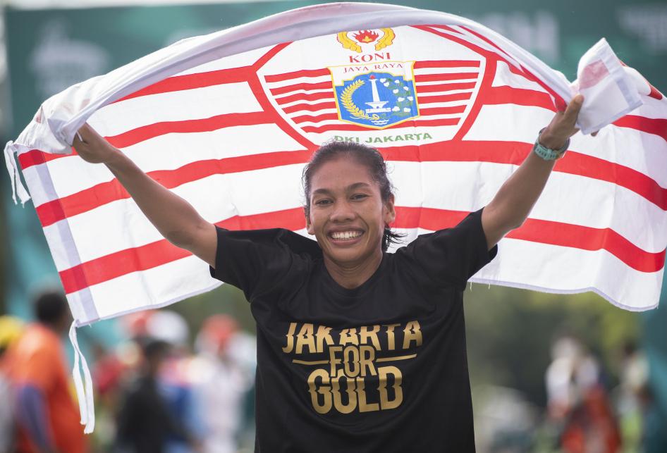 Odekta Raih Emas Lari Maraton Putri PON XX Papua
