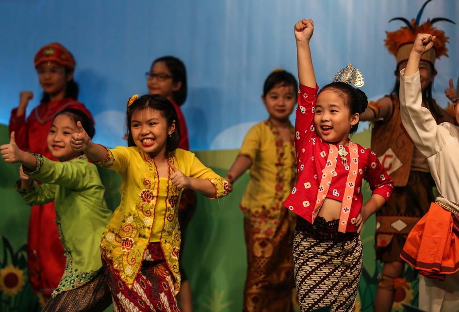 Paduan Suara Anak TK-SD Dendang Kencana Bentara Budaya Jakarta