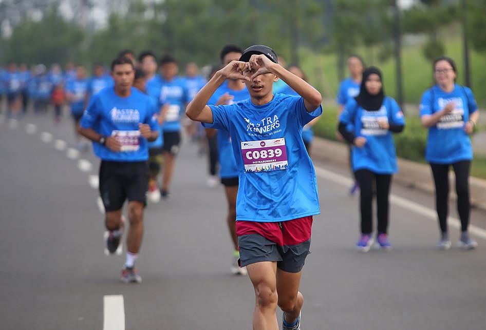 Astra Runners di Astra Biz Center BSD Tangerang
