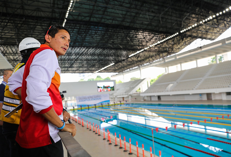 Wakil Gubernur DKI Jakarta Sandiaga Uno Asian Games 2018