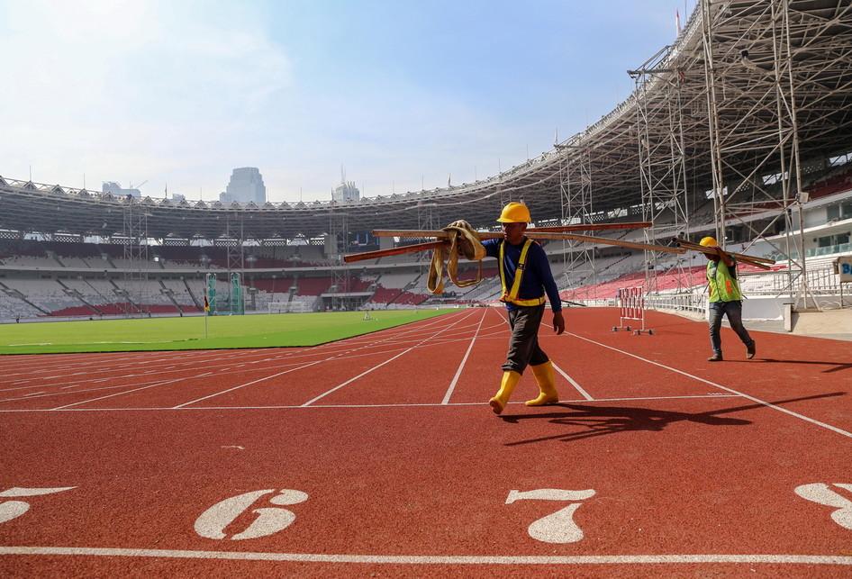 Stadion Utama Gelora Bung Karno untuk Asian Games 2018