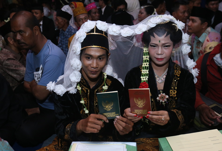 Nikah Massal 2017 di Jalan MH Thamrin Jakarta Pusat
