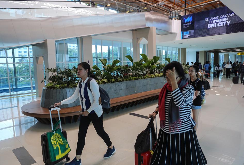 Kereta Api Bandara Stasiun BNI City