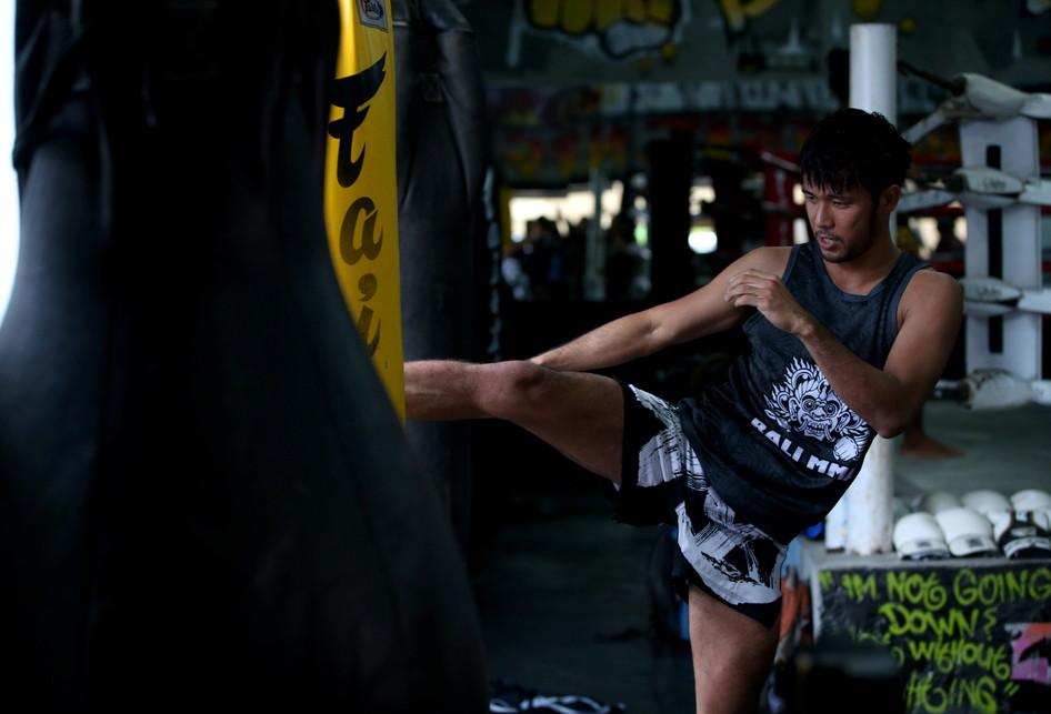 Jelang Pertandingan MMA