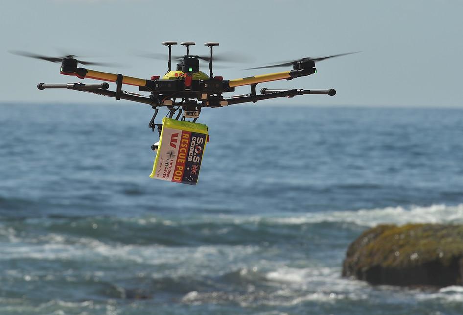 Drone Penyelamat di Australia
