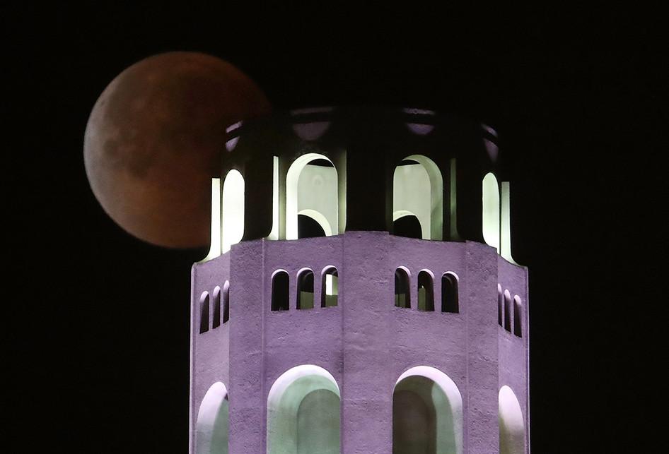 Super Blue Blood Moon di Berbagai Belahan Dunia