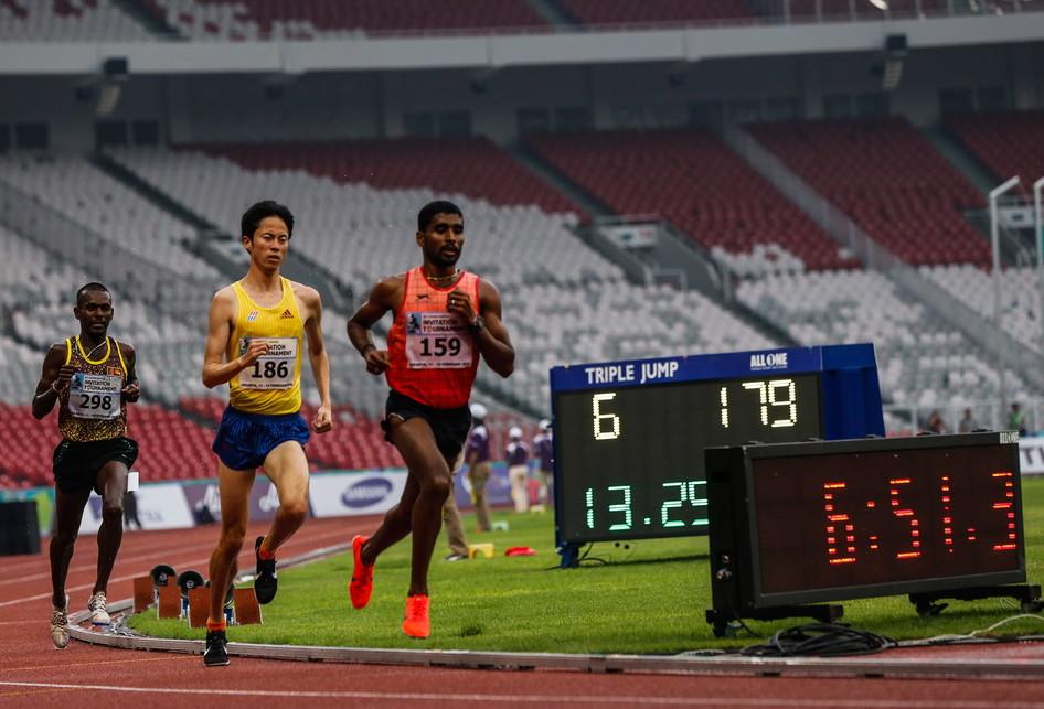 Final lari putra 5000 meter