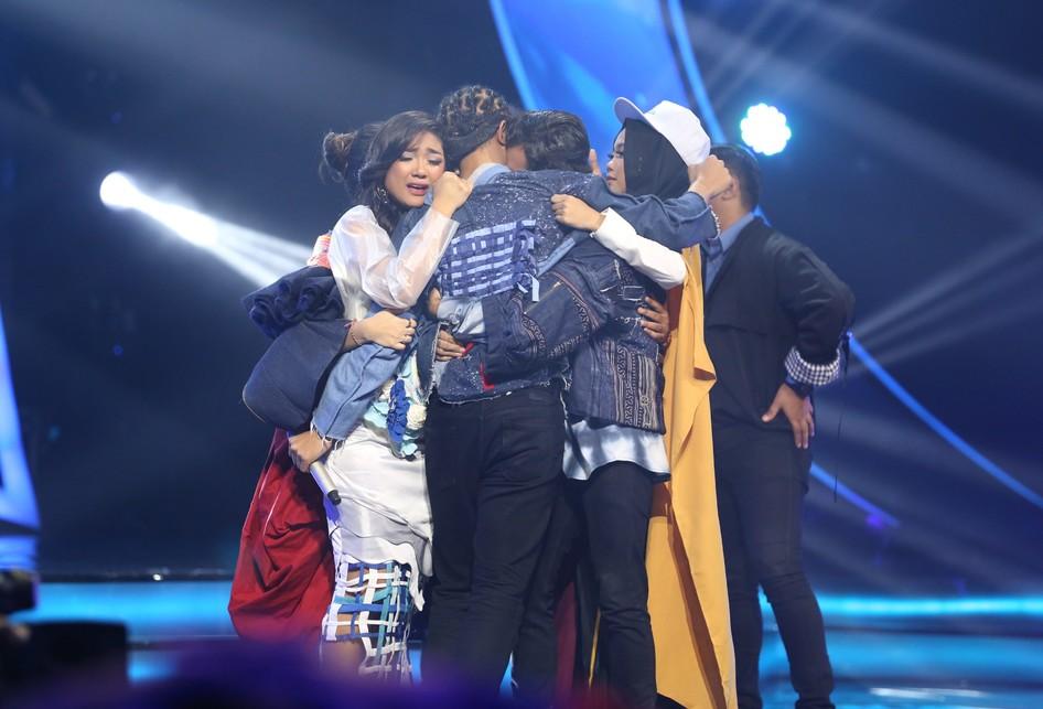 Top 10 Indonesian Idol 2018 di MNC Tower Kebon Jeruk, Jakarta