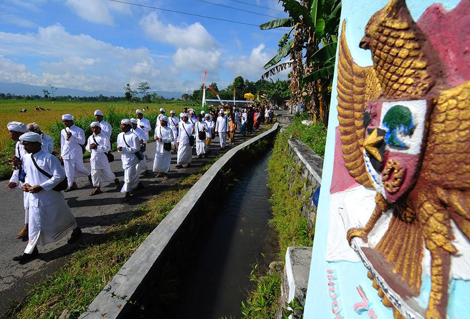 Melasti Jelang Nyepi 2018