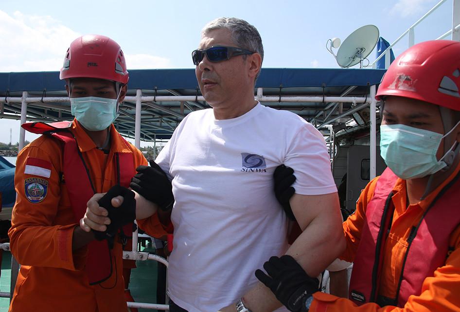 SAR Aceh Evakuasi ABK Kapal Asing