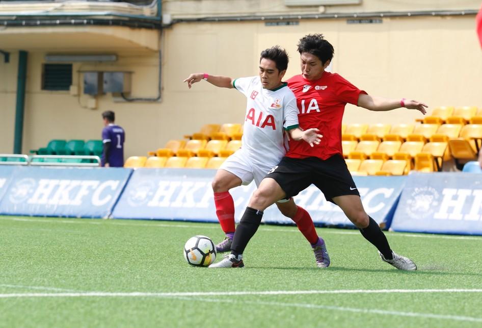 Tim AIA Indonesia Bertanding Saat Laga AIA Championship 2018