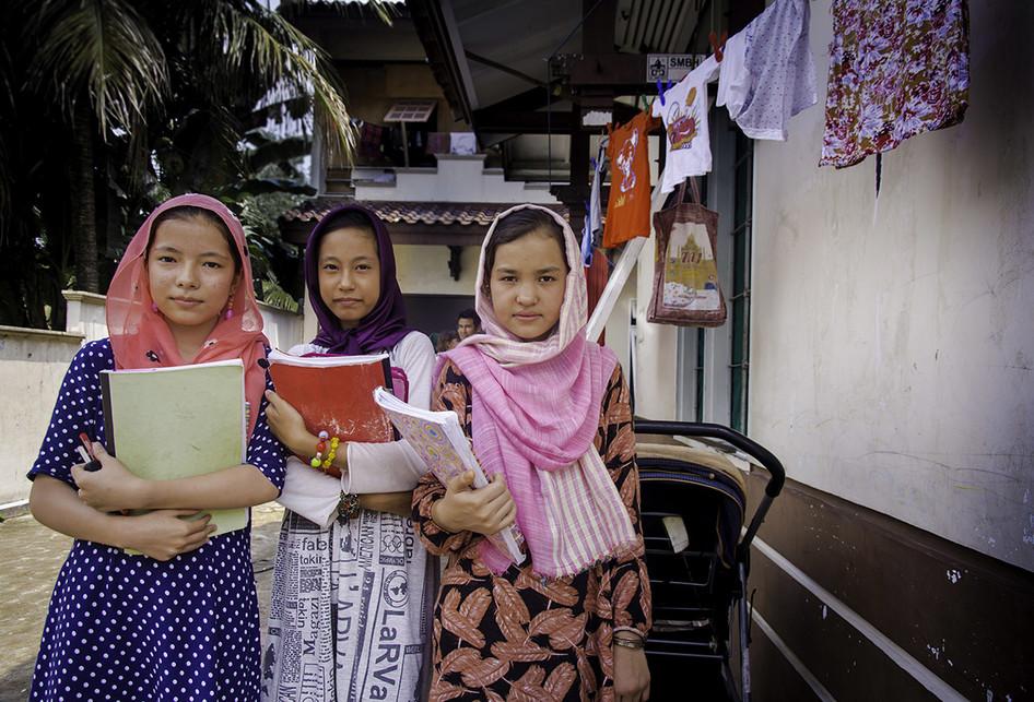 Pendidikan untuk Pengungsi Anak