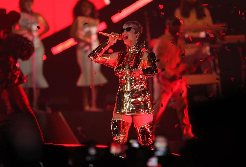 Konser Katy Perry di ICE BSD Tangerang, Banten