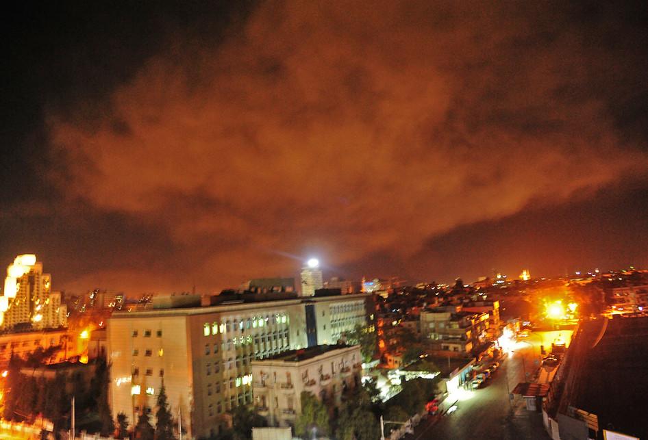 AS dan Sekutu Agresi Militer ke Suriah