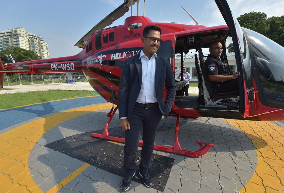 Helicity, Layanan Taksi Helikopter