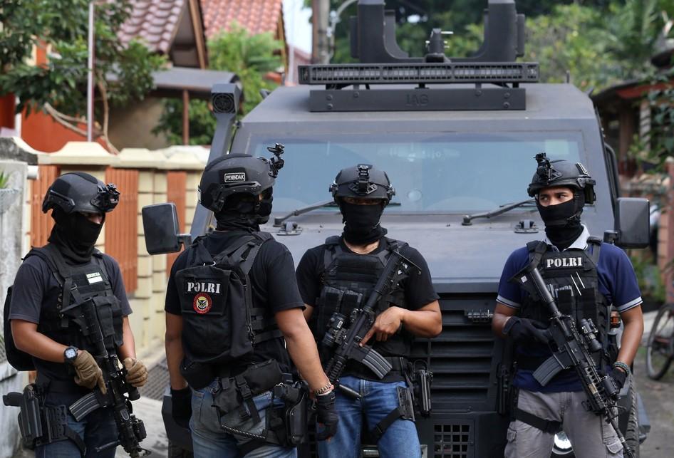 Penggerebekan Terduga Teroris di Kunciran Tangerang