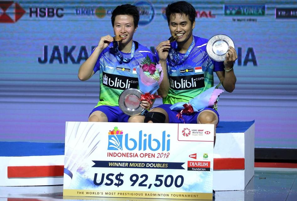 Final Indonesia Open 2018 di Senayan