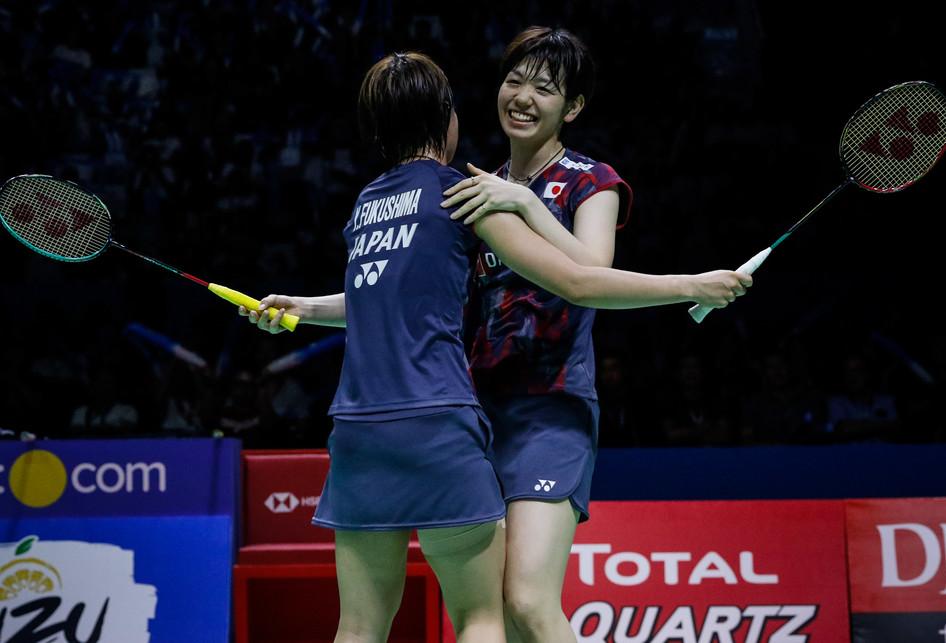 Indonesia Open 2018 Yuki Fukushima dan Sayaka Hirota