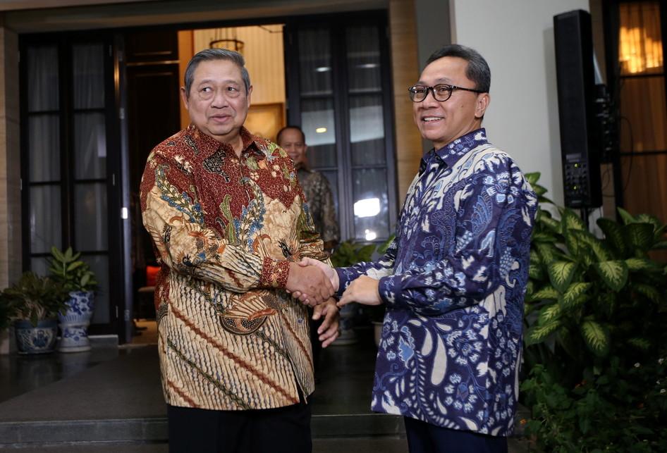 SBY Bertemu Zulkifli Hasan
