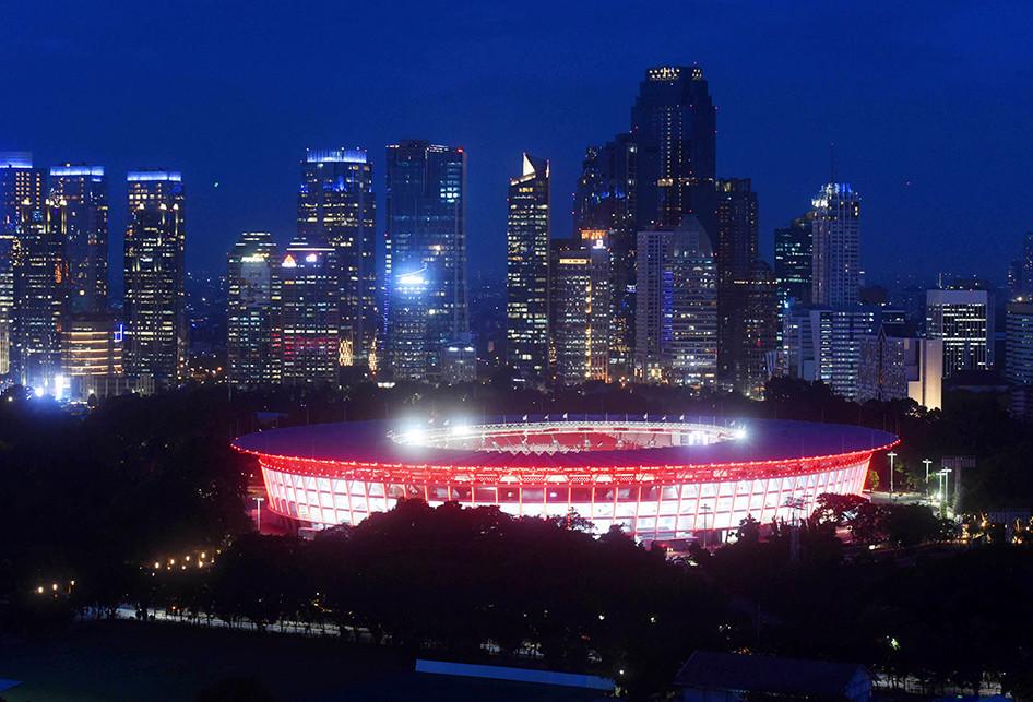 Ibu Kota Bersolek Sambut Asian Games