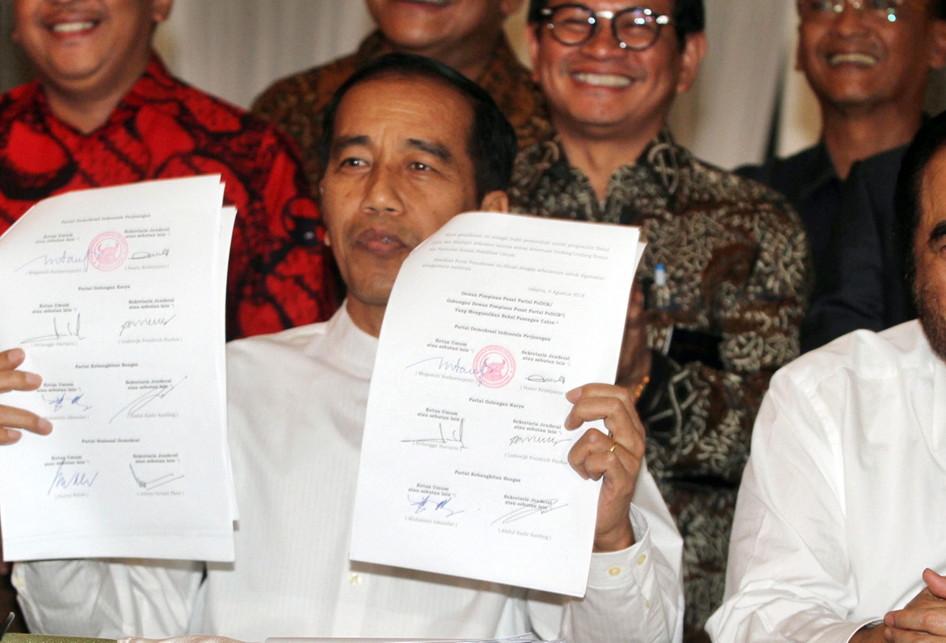 Deklarasi Jokowi-Maaruf Capres 2019