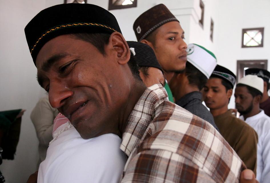 Suana Lebaran Pengungsi Rohingya Di Biruen