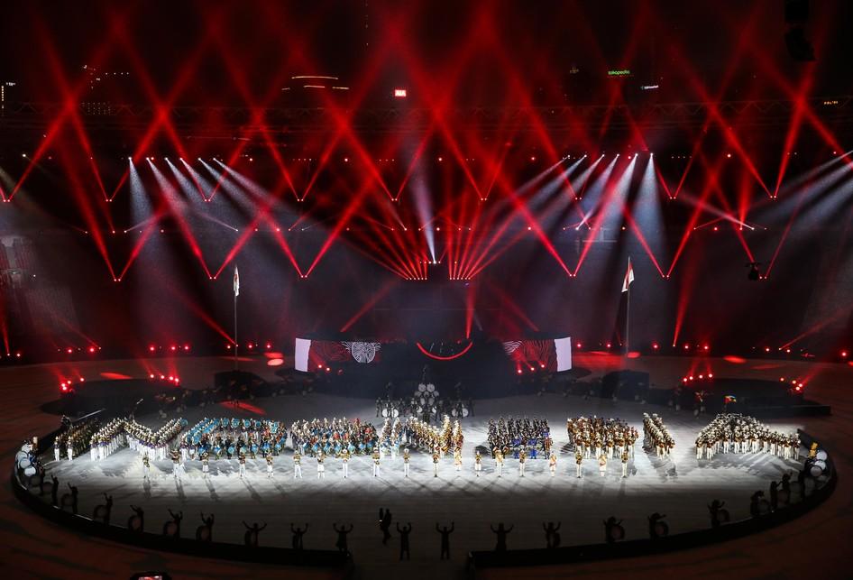 Parada Atlet Asian Games 2018