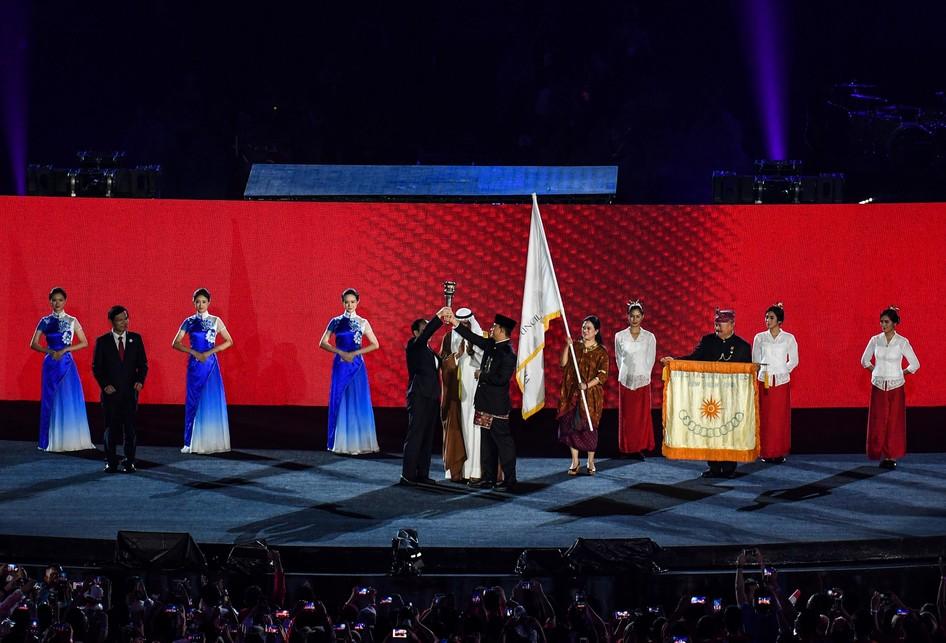 Asian Games Indonesia ke China