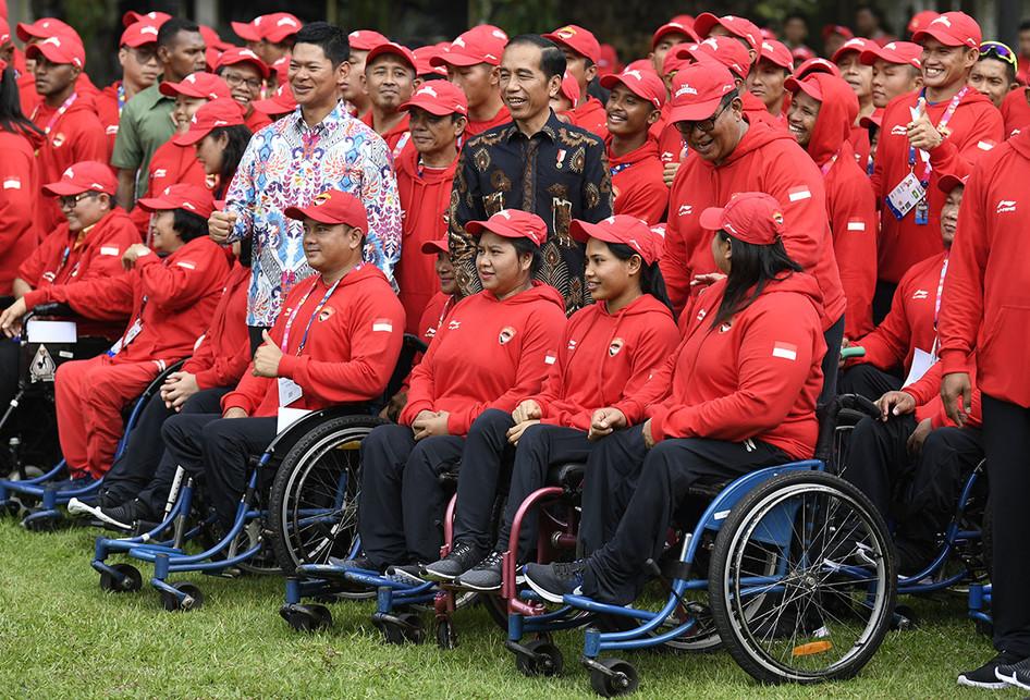 Pelepasan Kontingen Asian Para Games