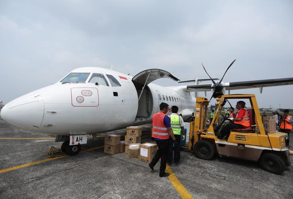 Pengiriman Logistik Pertamina dan Pelita Air di Pondok Cabe