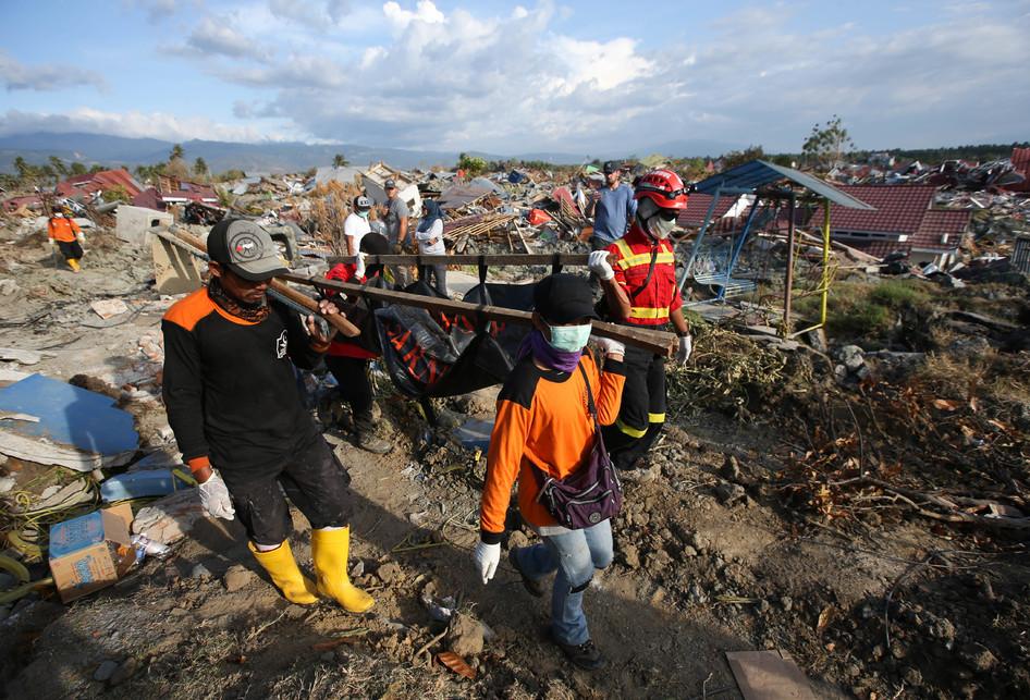 Pencarian Korban Hilang di Petobo