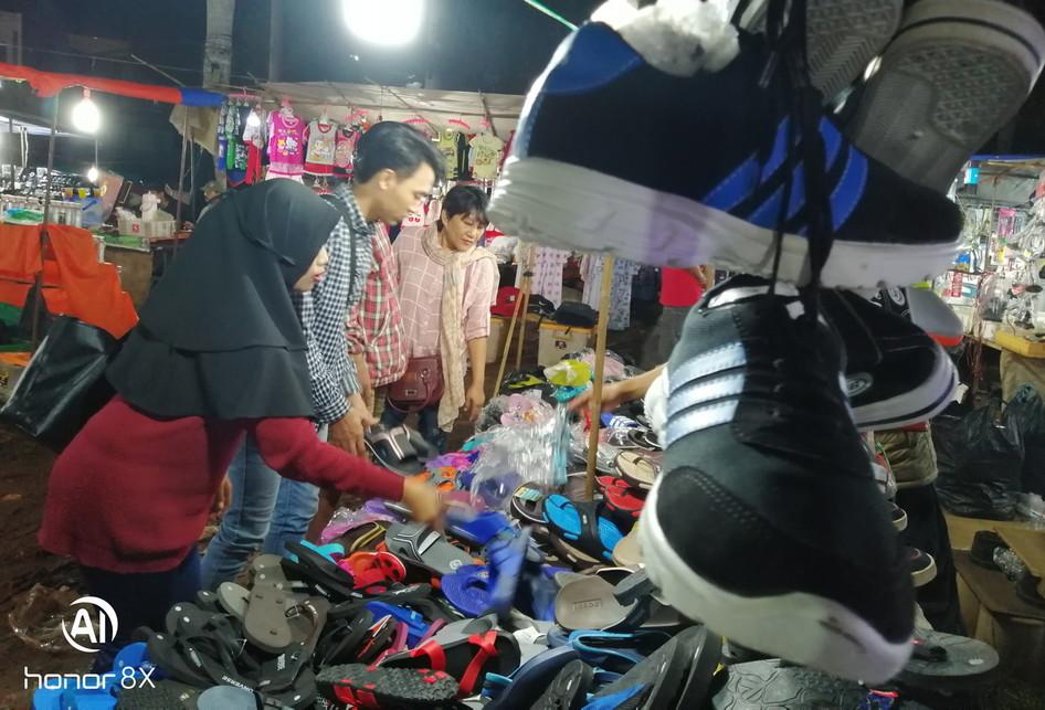 Pasar Malam di Tangerang Selatan