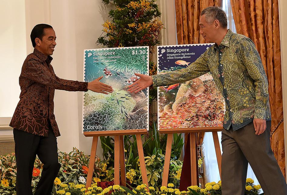 Kunjungan Jokowi di Singapura