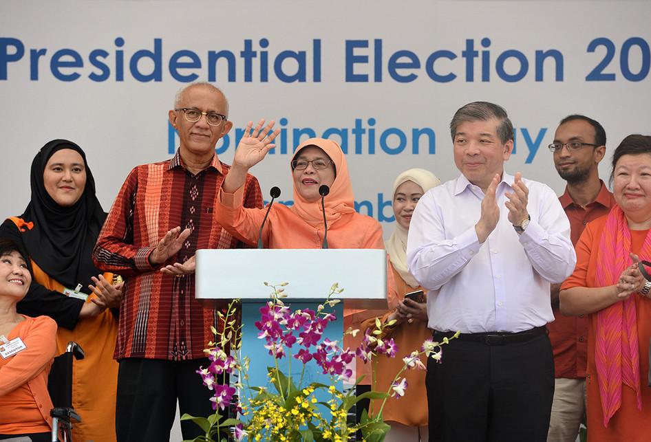 Halimah Yacob Jadi Presiden Wanita Pertama Singapura