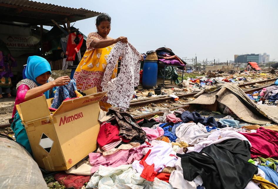 Korban Kebakaran di Kampung Bandan, Ancol, Pademangan, Jakarta U