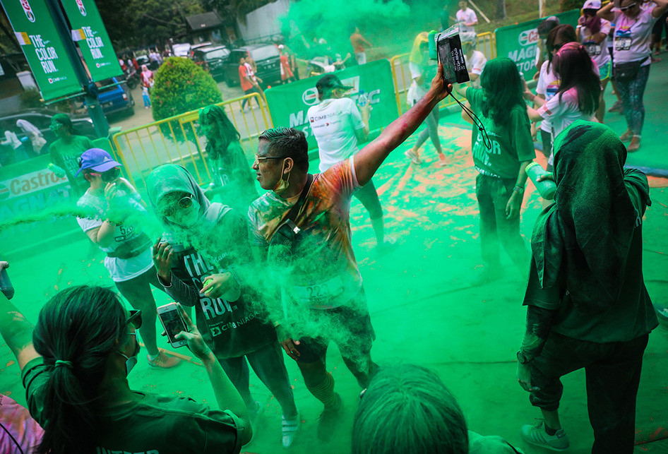 The Color Run 5 K Jakarta 2017