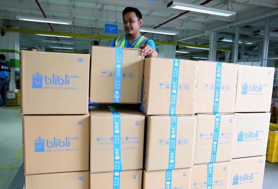 Blibli.com program CEO on Delivery Warehouse Cawang