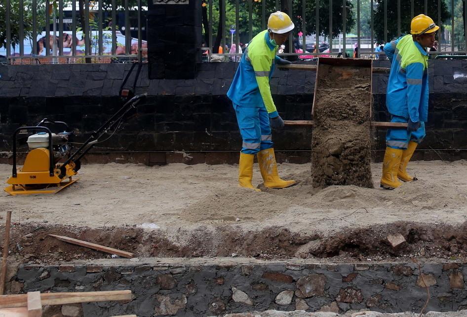 Perbaikan Jalur Pedestrian di DKI Jakarta
